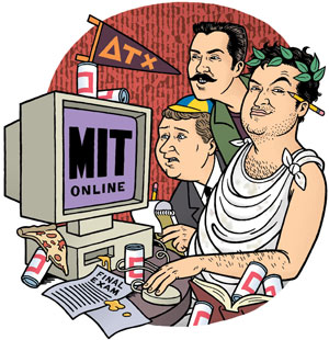 Animal House Meets M.I.T. Online by Danny Hellman
