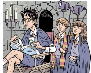 Harry Potter Grows Up by Danny Hellman